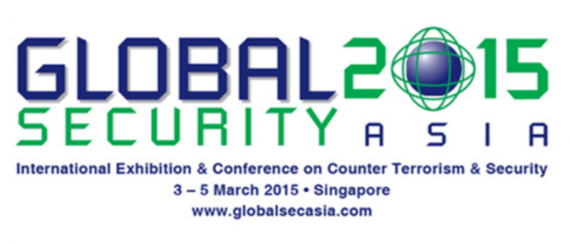 Cornerstone Technica exhibited in Global Security Asia 2015...